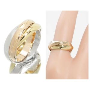 Authentic Trinity Ring size 5